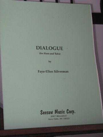 Silvermann F-E - Dialogue for Horn and Tuba